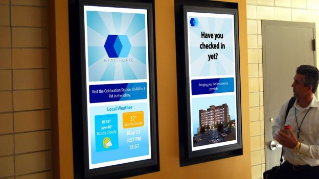 digital signage solutions for business